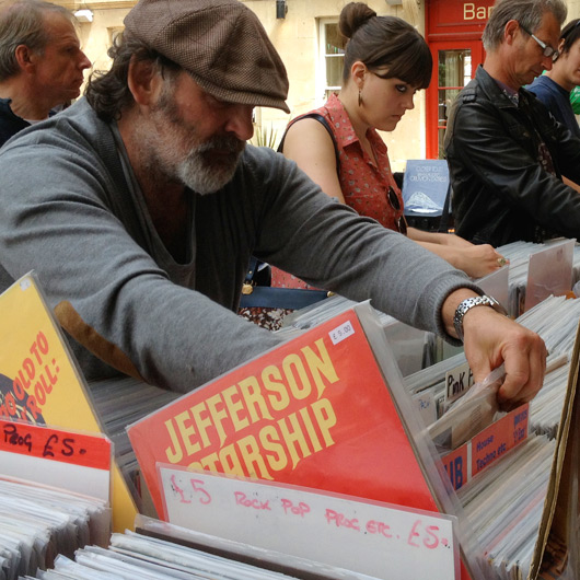 Bath Markets Vinyl