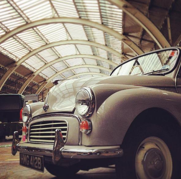 Bath Markets Vintage Cars