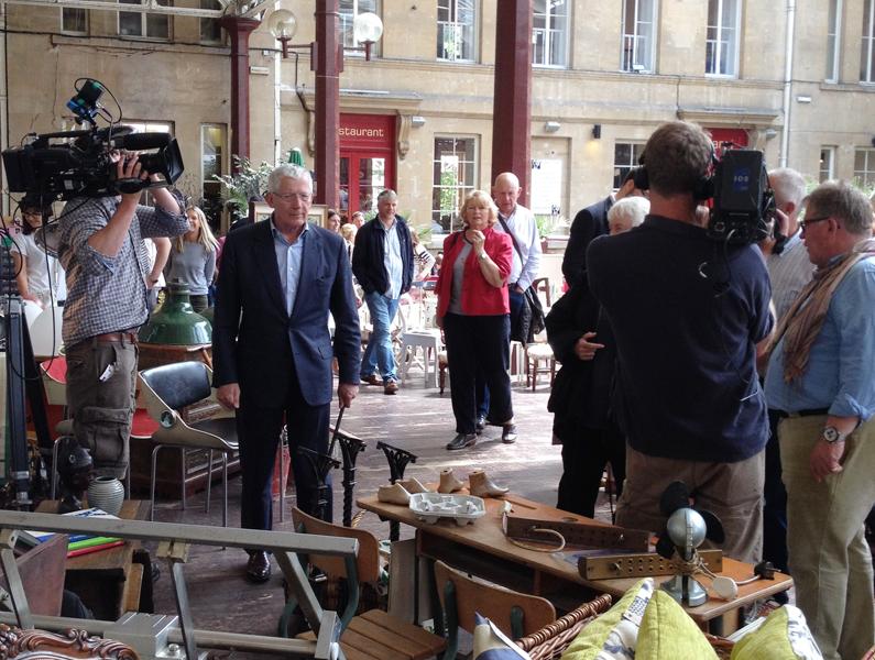 BBC filming at the BathVA